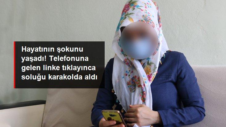 2 çocuk annesi telefonuna gelen linke tıklayınca 4 bin 500 lirasından oldu