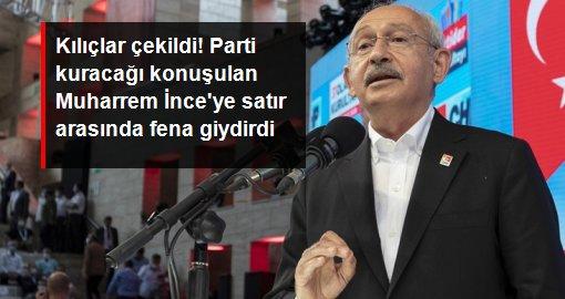 Kılıçdaroğlu, isim vermeden Muharrem İnce'ye yüklendi: Bireysel çıkarlar bu sistemin dışındadır