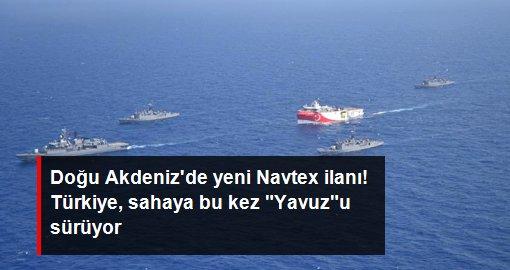 Türkiye yeni Navtex ilan etti! Doğu Akdeniz'de petrol ve doğal gazın izi sürülecek