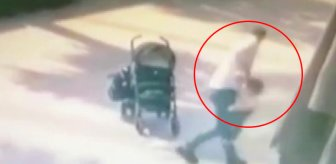 Kocaeli'de bir kişi bebek arasından düşen çocuğa şiddet uyguladı