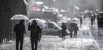 Meteoroloji, 4 bölge ve 5 ilimiz için sağanak ve gök gürültülü sağanak uyarısında bulundu