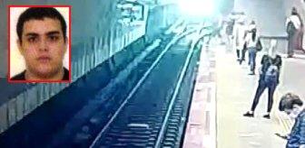Şişli'de Iraklı gencin metro raylarına atlayarak intihar ettiği görüntüler ortaya çıktı