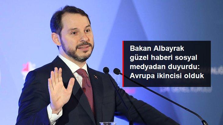 Son dakika! Bakan Albayrak: Türkiye tarımsal büyümede Avrupa genelinde ikinci oldu