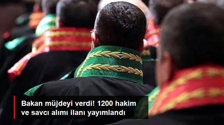 1200 hakim ve savcı alımı ilanı yayımlandı