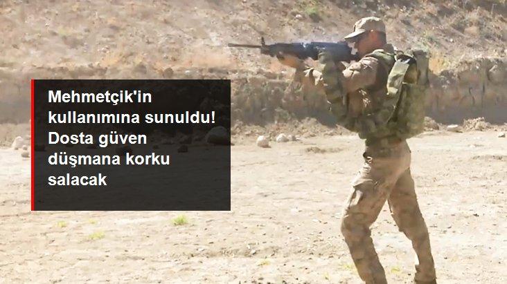 Mehmetçik'e kesintisiz atış imkanı sunan makineli tüfekler, üstün özellikleriyle dikkat çekiyor