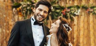 Oyuncu Begüm Birgören ile Mehmet Cemil evlendi