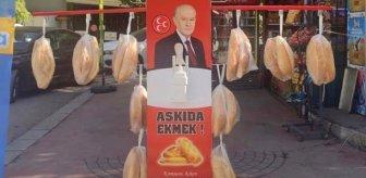 MHP'den 'askıda ekmek' eleştirilerine çok sert cevap: Askıda ekmeğe siyaset katmak ekmeğe zehir sürmektir