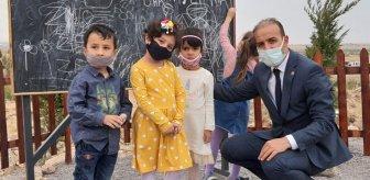 Hababam Sınıfı'ndaki sahne gerçek oldu! Niğde'de ormanda okul açıldı
