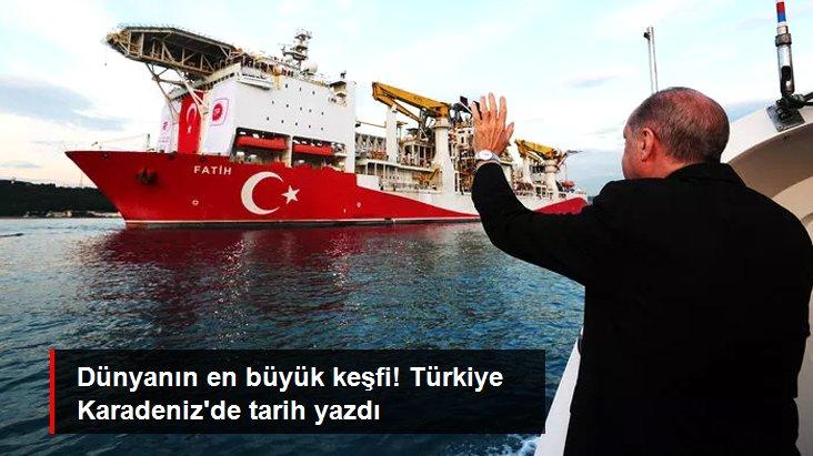 Son Dakika: Karadeniz'de bulunan doğal gaz, bu yıl denizlerde keşfedilen en büyük rezerv oldu
