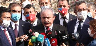 TBMM Başkanı Şentop Ermenistan'ın ambargo söylemini değerlendirdi: Fıkra olarak anlatılacak bir şeydir