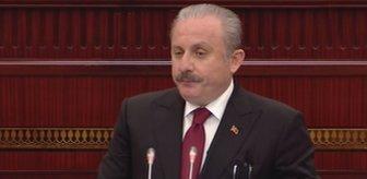 Son Dakika! Azerbaycan Meclisi'nde konuşan TBMM Başkanı Mustafa Şentop: Minsk grubunun beyin ölümü gerçekleşmiştir