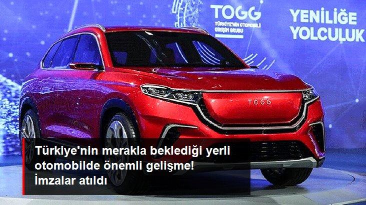 Yerli otomobil TOGG'un pili Türkiye'de üretilecek