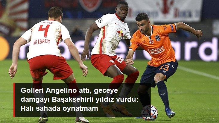 Golleri Angelino attı, geceye damgayı Başakşehirli yıldız vurdu: Halı sahada oynatmam