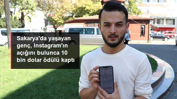 Sakarya'da yaşayan Türkmen genç, Instagram'ın açığını bulunca 10 bin dolar ödül kazandı
