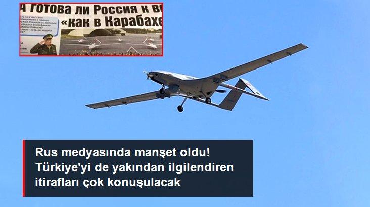 Rus medyası Türk SİHA'larını konuşuyor: Rusya SİHA savaşına hazır değil