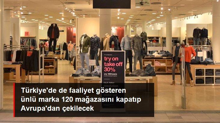 Amerikan giyim şirketi GAP, Avrupa'daki mağazalarını kapatıyor
