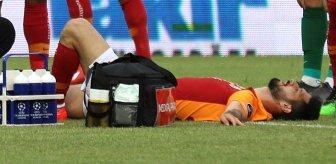 İki kez ayağı kırılan Galatasaraylı Emre Akbaba'nın bacağının son hali üzüntü yarattı