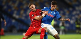 Napoli, evinde AZ Alkmaar'a 1-0 mağlup oldu