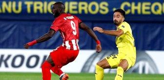 Son Dakika: Sivasspor, deplasmanda Villarreal'e 5-3 mağlup oldu
