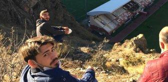 Gümüşhanesporlu futbolcular, Sancaktepe maçını dağdan izlediler