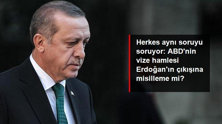 Erdoğan'ın S-400 açıklamasının hemen ardından ABD'nin vize işlemlerini askıya alması dikkat çekti