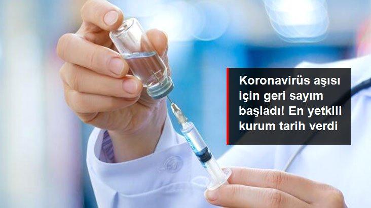 Geri sayım başladı! Koronavirüs aşısında kasım sonu itibarıyla sonuç alınabilir