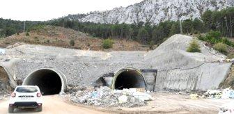 Projenin yüzde 80'i tamamlandı! İki şehir arasını 26 kilometre kısaltacak