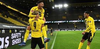 Borussia Dortmund, derbide Schalke 04'ü 3-0 mağlup etti