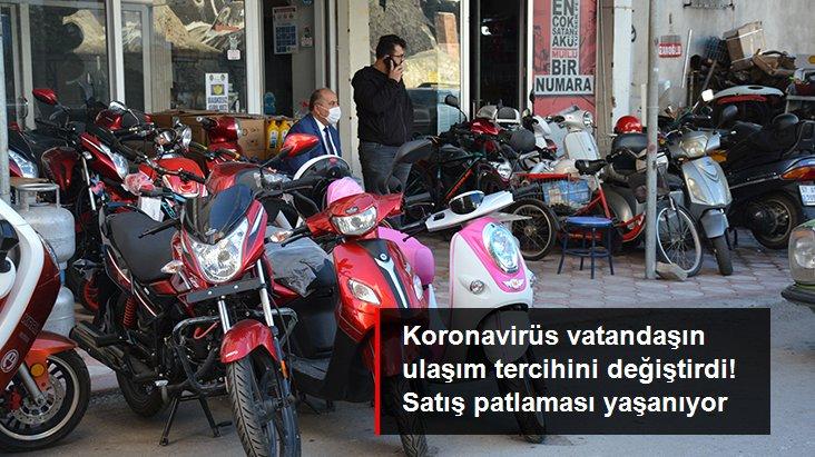 Koronavirüs nedeniyle bisiklet ve motosiklet satışlarında patlama yaşanıyor