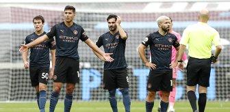 Manchester City, deplasmanda West Ham United'la 1-1 berabere kaldı