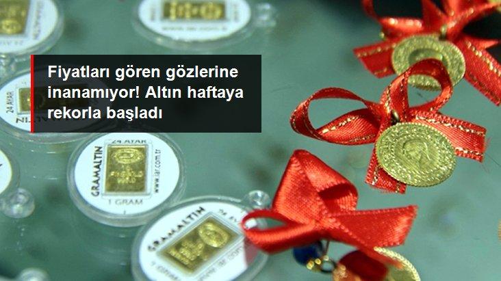 Son dakika: Altının gram fiyatı 496,5 lira ile rekor tazeledi