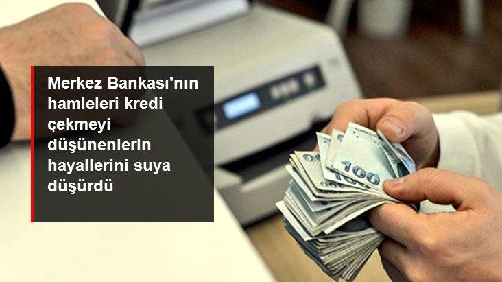 Merkez Bankası'nın sıkılaştırma adımlarıyla kredi ve mevduat faizleri yükseldi