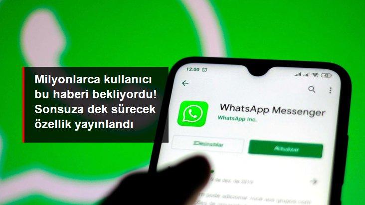 WhatsApp sohbetlerde 'sonsuza dek' sessize alma özelliğini iOS ve Android için yayınladı