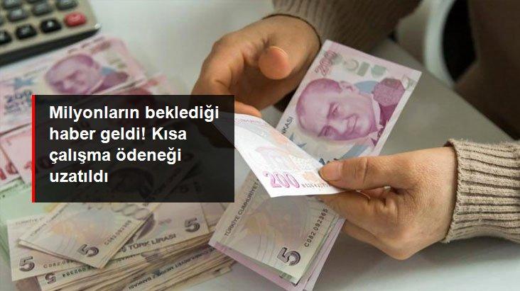 Kısa çalışma ödeneği ve işten çıkarma yasağı Cumhurbaşkanı Erdoğan'ın imzasıyla 2 ay daha uzatıldı