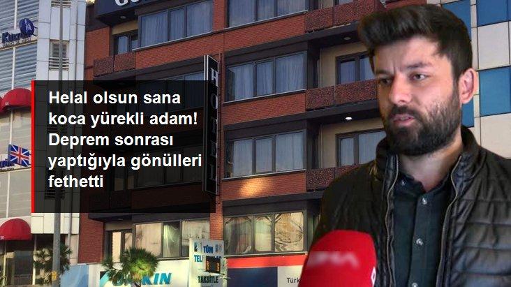 İzmir'de faaliyet gösteren bir otelin işletmecisinden örnek davranış: Depremzedeleri ücretsiz ağırlayacak