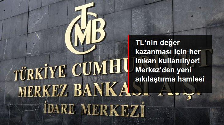 Son dakika: Merkez Bankası'ndan yeni sıkılaştırma adımı: BIST Repo-Ters Repo fonlaması sıfırlanacak