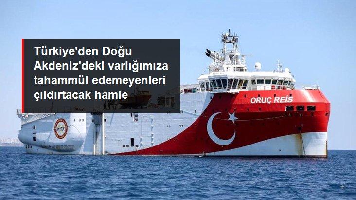 Son Dakika! Oruç Reis'in Akdeniz'deki görev süresi 29 Kasım'a kadar uzatıldı