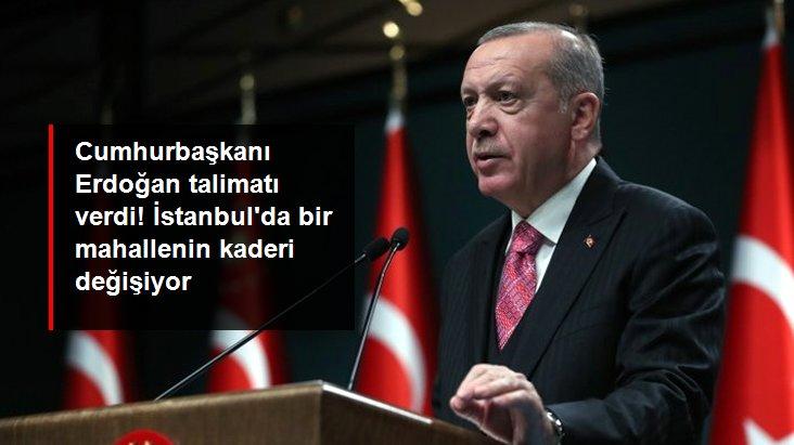 Son Dakika: Cumhurbaşkanı Erdoğan'dan Fikirtepe talimatı: Kentsel dönüşümü TOKİ ve Emlak Konut yapacak