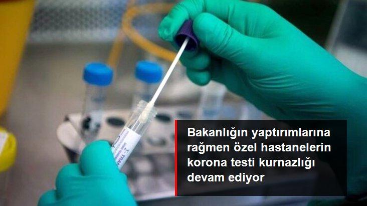 İstanbul'da bazı özel hastaneler yüksek test ücreti almaya devam ediyor
