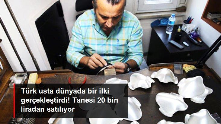 Türk ustanın ürettiği gümüş maskeler 1500 liradan, altın maskeler ise 20 bin liradan satılıyor