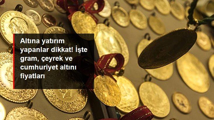 Güne yükselişle başlayan altının gram fiyatı 463 liradan işlem görüyor