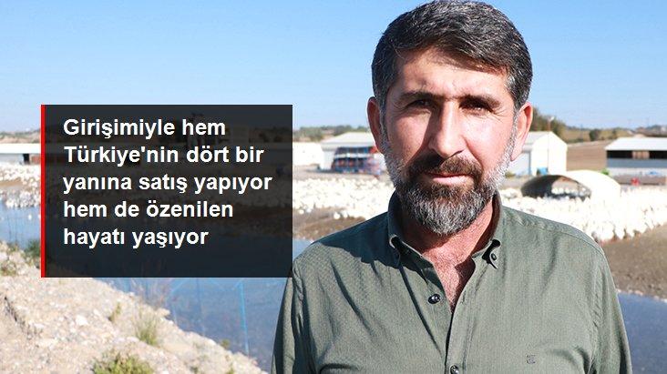 Adana'da hobi için beslediği kazlarla çiftlik kurdu, Türkiye'nin her yerine satış yapıyor