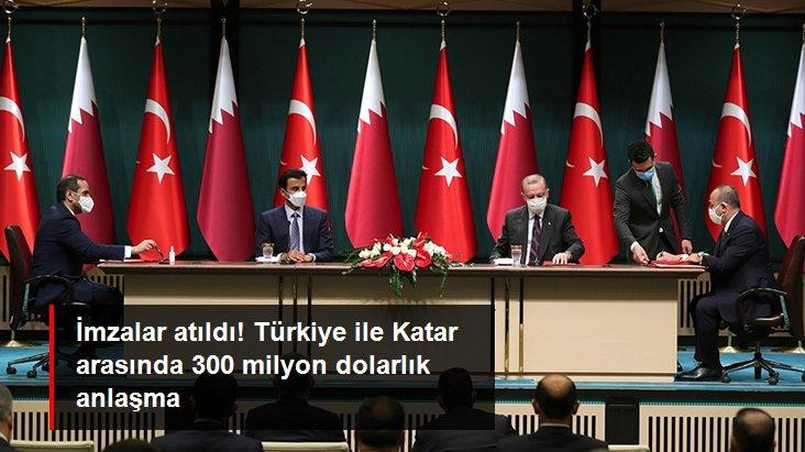 Son Dakika: Türkiye ile Katar arasında 300 milyon dolarlık işbirliği anlaşması