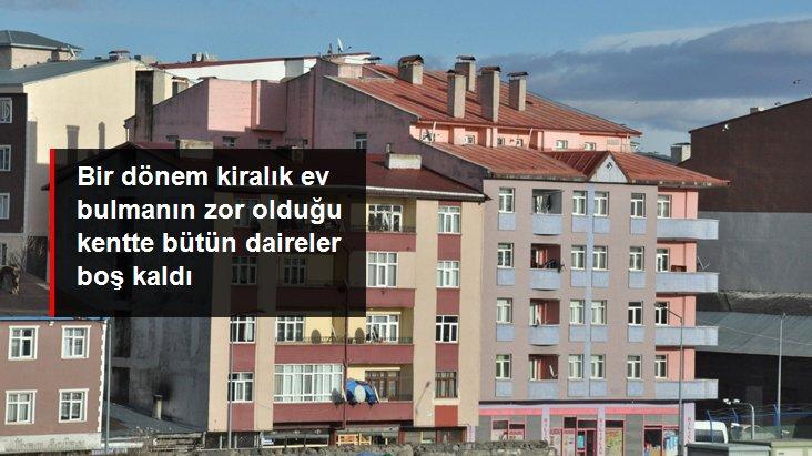 Koronavirüs nedeniyle öğrencilerin gelmediği Kars'ta kiralık evler elde kaldı
