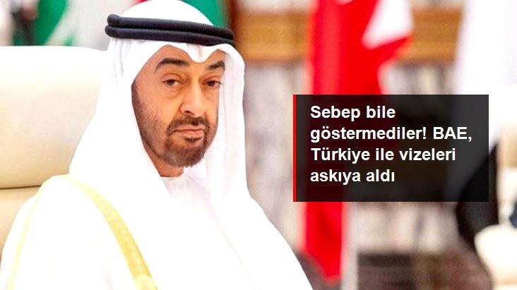 Herhangi bir sebep göstermediler! Birleşik Arap Emirlikleri, Türklere vize işlemlerini durdurdu