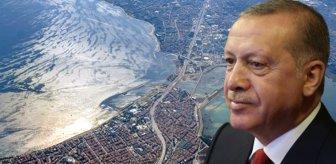 Erdoğan'dan Kanal İstanbul açıklaması: Yatırımlarda durma söz konusu değil