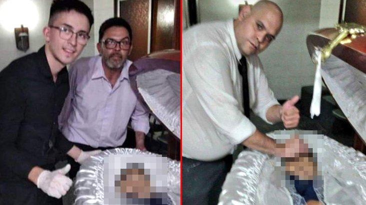 Maradona'nın cenazesinde skandal görüntü! Ölüm tehditleri alıyorlar
