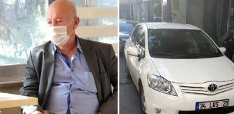Otomobiliyle dilenmeye gelen dilencinin üzerinden 7 bin lira çıktı