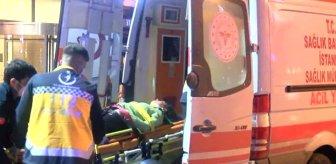 Şişli'de ünlü bir otelin camından düşen kadın yaralandı