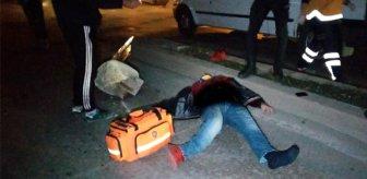 Feci kaza! Refüje çarpan alkollü sürücü ölümden döndü